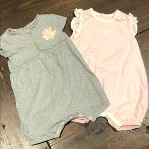Burts Bees Rompers